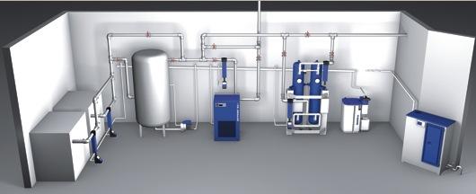 Resultado de imagen de diseño de redes de aire comprimido
