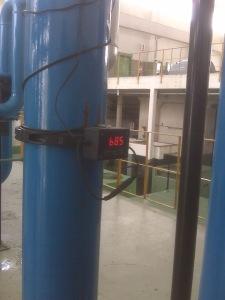 Caudalimetro en una instalación