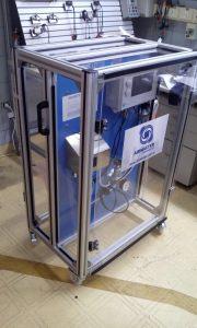 Equipo portátil para determinación de calidad de aire comprimido acorde a ISO 8573-1